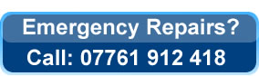 call 07761 912418 for emergency plumbing repairs Bury